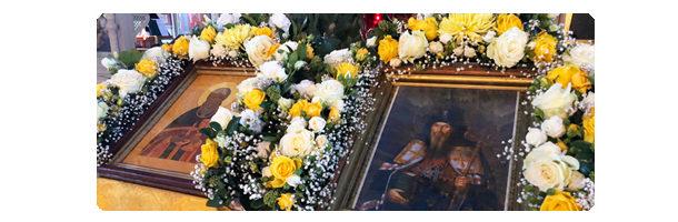 Архиерейское Богослужение в Алексеево-Акатовом монастыре в день памяти святителя Антония, Архиепископа Воронежского